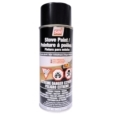 METALLIC BLACK STOVE PAINT - 342 g (12oz) AEROSOL