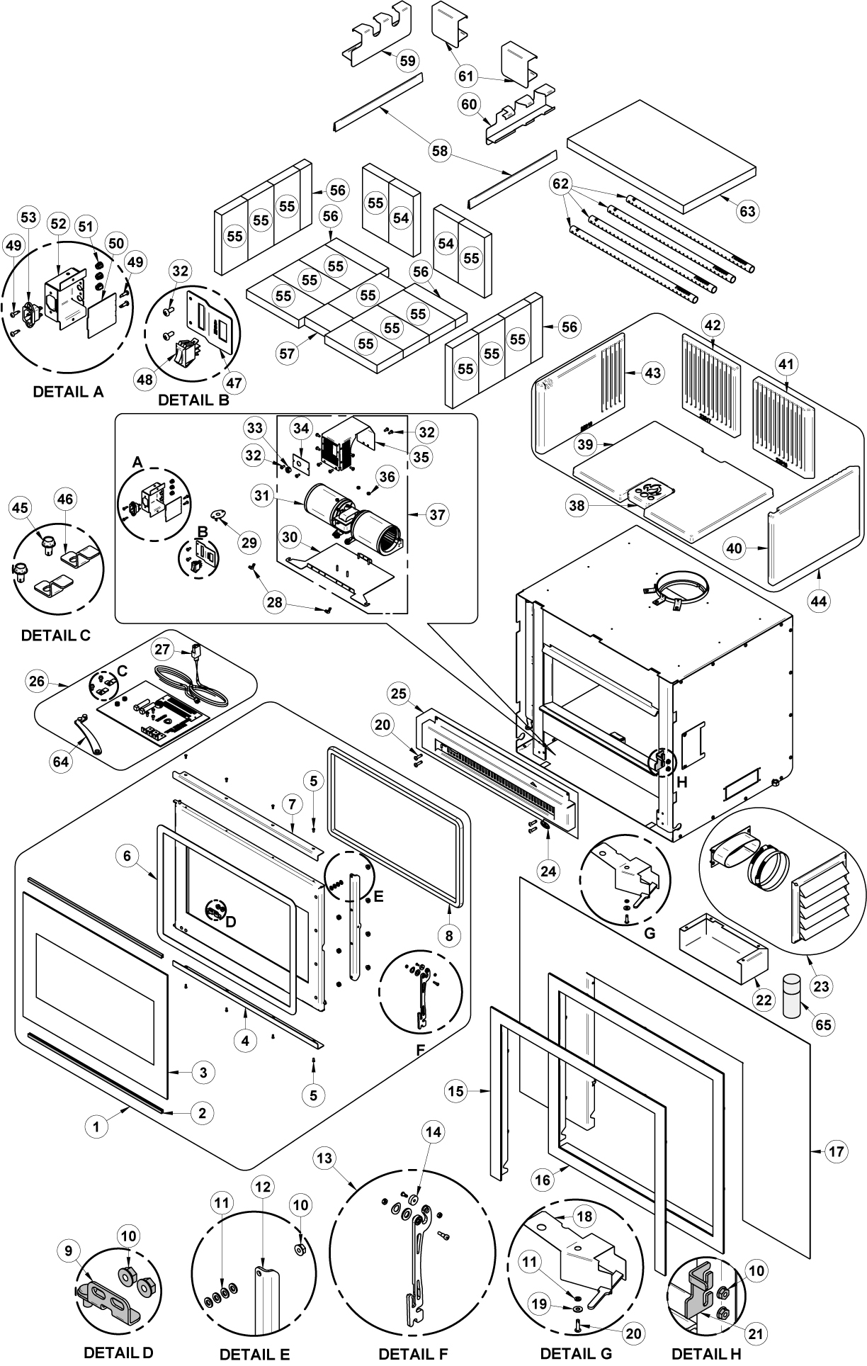 Replacement Parts List Osburn
